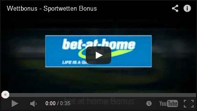 Fussball Wettbonus Video